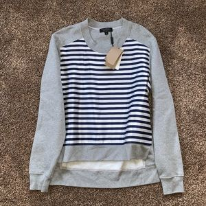 NWT Burberry Grey Melange Sweater